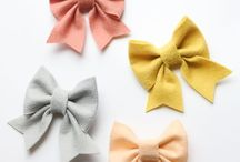 Bows and flowers