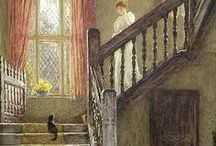 Art / Primarily Victorian artists like Waterhouse, Millais, Allingham, and Constable  / by Christina