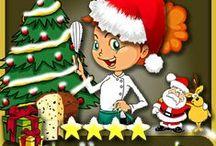 Ricette e idee per il Natale - Christmas recipes  / Una pagine per raccogliere le idee per il Natale! Non solo ricette, ma anche spunti per le decorazioni della casa e della tavola! http://blog.giallozafferano.it/ricettedimarina/idee-per-natale/