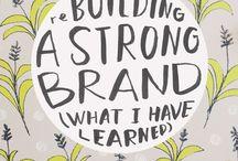 Brand guidelines / brandbooks / by Pia Hansen