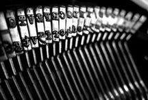 """Taller de escritura  / """"La tarea del novelista no es narrar grandes acontecimientos, sino hacer interesantes los pequeños"""" Arthur Schopenhauer / by 24symbols"""