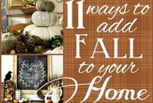 holiday fun! fall & christmas* / by Alicia Kofroth