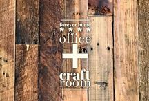 home :: office + craft room