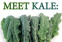 The freshest green alive  / Kale, without fail.