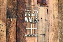 home :: paint, walls, + windows