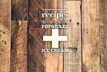 recipes :: popsicles + ice cream