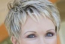 Haircuts / Short styles for mature women