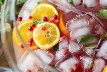 Zomerse drankjes voor op een warme dag / De lekkerste zomerse drankjes!