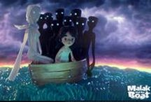 Malak and The Boat | Unicef | Reference Board / I created this board in the process of research for the Unfairy Tales production. Hope you enjoy it!  http://animation.art.br/Malak-and-the-Boat