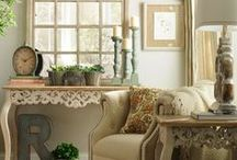French Country Design / Re do ideas for the kitchen, family and living room