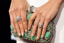 Celeb Engagement Rings / Sigh. Swoon. Dream. We are just totally enamored by the wedding rings on these famous gals' fingers. / by StyleBistro