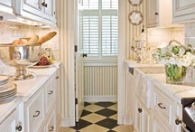 Kitchens I Love / I love simple neat kitchens.  I wish I had one! / by Tracy Gardner Anderson
