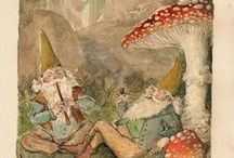 Fairy Tales: Gnomes & Mushrooms / by Grim