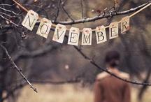 Fall into November / by Heidi May