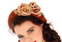 Vintage Hats , Hats and more Hats / A collection of our own and others miss kitty just loves!