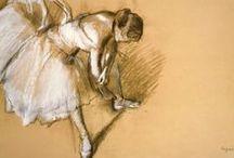 E. Degas / by moxie moksi