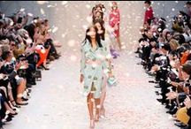 Runway Fashion for Spring / Stylish spring fashion straight from the runway. / by StyleBistro