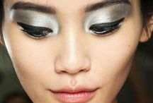 Eyes / gorgeous eye makeup ideas, from metallic eyeshadow to dramatic cat eyes  / by StyleBistro