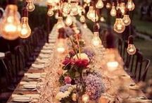 Reception Ideas / Wedding Reception Ideas  / by Bethany and Dan Photography