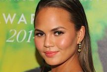 Chrissy Teigen / Chrissy Teigen style, fashion, and hair.  Pins of Teigen's best outfits and dresses.