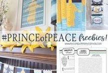 #PRINCEofPEACE Printables & Ideas for a Christ-Centered Easter / If you are looking for ways to incorporate the #PRINCEofPEACE theme into your Easter activities, traditions and celebrations - you've come to the right place! We are collecting ideas, free printables, stories and more from all over the web to one central spot.  If you are a blogger and would like to join as a collaborator, please email your Pin Name to colette@mycomputerismycanvas.com.
