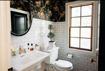 Bathrooms / Well designed bathrooms and tiling ideas.
