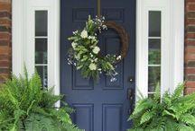 Front Door Decor / by Amanda Dunn