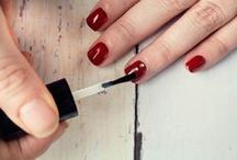 BEAUTY - Nails / Get all of your easy nail art pins here. Including nail polish, nail care, and nail tips.  / by Hairspray and HighHeels