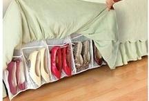 Clever Storage Ideas! / by Karrieann