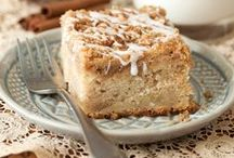 GG G'pa Elijah Coffee Cake... / Coffee cake recipes,  most don't have coffee in them, but they do go well with a cup. / by Ar Families