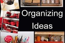 Let's Get Organized / Ahh to be organized