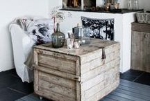 modern rustic home / inspiration for green and rustic living