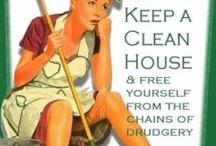 Clean Sweep- Cleaning Tips / by Tristine Geyer Coggins