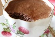 Grandma Made Pudding... / Grandma made pudding, served it into pretty tea cups. Grandma liked butterscotch, my favorite was chocolate. .╰✿ Pudding, Custard And Mousse Recipes ✿╮ / by Ar Families