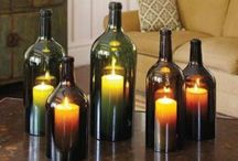 Bottle Crafts / Ideas for empty wine bottles