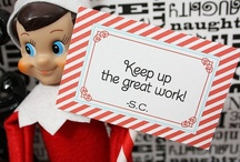 Elf on a shelf / I wanna start this for my Grandkids / by Tiffany Garza