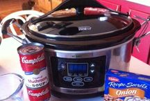 Crockpot Cooking / Good for on the road & living in a motel room / by Tiffany Garza