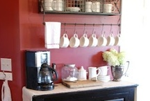 Coffee Bars And Itallian Delights... / Inspiration to create a coffee station, bar, or cart in your home. And recipes for Biscotti and other Italian Sweets. / by Ar Families