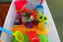 Preschool Crafts with Food / by Amy Schleicher Nickell
