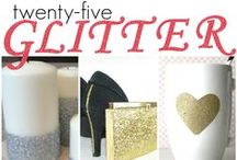 MAKE - Glitter / Glitter DIY & craft projects.  / by Hairspray and HighHeels