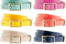 WEAR - Belts  / Must have belts. / by Hairspray and HighHeels
