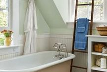 :: the bath :: / Ideas and inspiration for my dream, someday bathroom. / by Megan Wenger