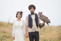 rustic wedding / outdoor wedding inspiration for a modern rustic wedding