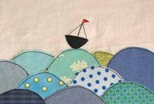 :: sail boats :: / Inspiration for a sailboat quilt. / by Megan Wenger