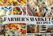 Farmers Market Tips/Recipes... / ...Farmers Market...Farm to Fork...Farm to Table...Farm To Plate...Farm Stand...Roadside Stand...Local Produce...Locally Grown...U Pick...Eat Local...Eat Fresh...Seasonal Eating...Community Gardening... / by Ar Families