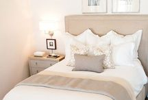home sweet home / comfy blankets, soft colors, clean modern lines
