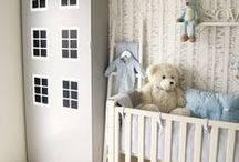 Nursery Inspiration / Bring your bundle of joy home to a beautiful and functional nursery with comforts for the wee ones and parents alike. / by Richard Martin