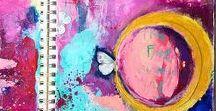 Handmade Journals / Artistic journals and journal writings; featured artist journals/artwork