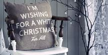 Studio in Christmas White / Glittery, gorgeous, sparkly white Christmas and New Year's decor & design