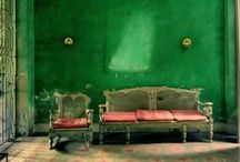 GREEN with envy / Green color inspiration & palettes